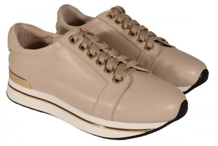 Creme sneakers